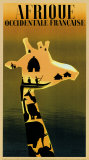 Afrique Occidentale Francaise, c.1948 Posters