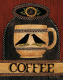 Coffee Posters by Lisa Hilliker