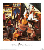 El Piano Posters by Didier Lourenco