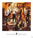 Cita con el Jazz Posters by Didier Lourenco