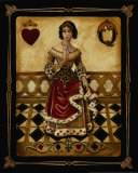 Harlequin Queen Prints by Gregory Gorham