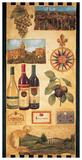País de vino I Pósters por Elizabeth Jardine