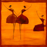 Danseuse Prints by Thierry Ona