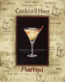 Martini Print by Gregory Gorham