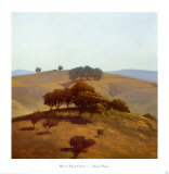 Hills Near Chico Print by Marc Bohne