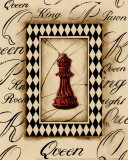 Chess Queen Prints by Gregory Gorham