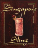 Singapore Sling Prints by Catherine Jones