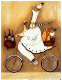 Chef in bicicletta Poster di Garant, Jennifer