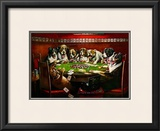 Poker Sympathy Prints by Cassius Marcellus Coolidge
