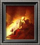 The Prophet Jeremiah Mourning over the Destruction of Jerusalem, 1630 Posters by  Rembrandt van Rijn
