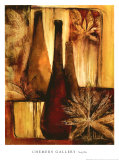 Exotic Elements I Prints by Sandy Clark