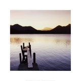 Lake Shore III Affiches par Chris Simpson