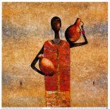 The Gift Bearer Affiches par Michel Rauscher