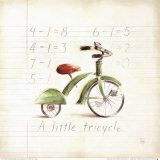Little Tricycle Posters by Lauren Hamilton