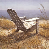 Shoreline Chair Prints by Arnie Fisk