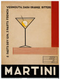 Gin Martini Posters by Marco Fabiano
