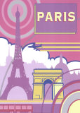 Paris Prints by Peter Kelly