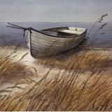 Shoreline Boat Poster by Arnie Fisk