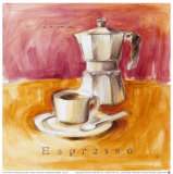 Espresso Aroma Prints by Lauren Hamilton