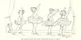 Bailarinas II Lámina por Steve O'Connell