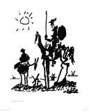 Don Chisciotte, 1955 circa Stampe di Pablo Picasso