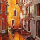Venice Morning Posters by Brent Heighton