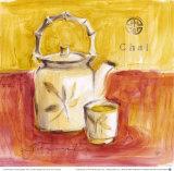 Chai-Tee Kunstdrucke von Lauren Hamilton