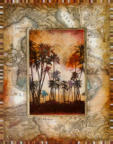 Tahitian Sunset I Prints by John Douglas