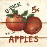 David Carter Brown - U-Pick Apples, Five Cents Reprodukce