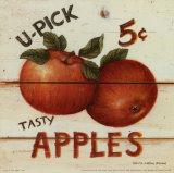 David Carter Brown - U-Pick Apples, Five Cents Obrazy