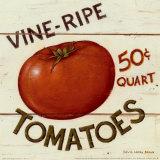David Carter Brown - Vine Ripe Tomatoes Reprodukce