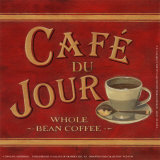 Café du Jour Prints by Lisa Alderson