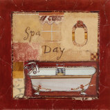 Spa Day Poster by Katherine &amp; Elizabeth Pope