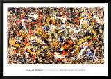 Convergence Print by Jackson Pollock