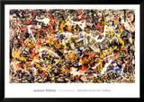 Convergência Poster por Jackson Pollock