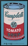 Campbell's Soup Can, 1965 (pink & red) Art by Andy Warhol