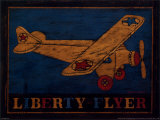 Liberty Flyer Art by Warren Kimble