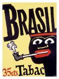 Brazil Pipe Tobacco Giclee Print