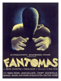 Fantomas, Sci-Fi Movie Poseter Giclee Print