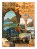 Tour Ireland Connemira Mgw Railway Giclee Print by Hugo D'Alesi