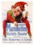 Marionette Puppet Theater Giclee Print