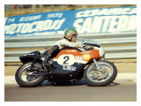 Aermacchi GP Motorcycle Wydruk giclee autor Giovanni Perrone