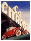 Citroen C4 Automobile Giclee Print