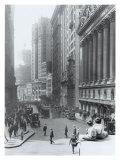 New York City, Wall Street Wydruk giclee