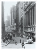New York City, Wall Street Giclée-Druck