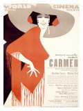 Carmen World Cinema Giclee-vedos