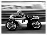 Yamaha GP Motorcycle Wydruk giclee autor Giovanni Perrone