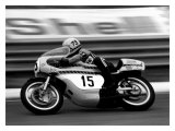 Yamaha GP Motorcycle Giclee Print by Giovanni Perrone