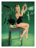 Pin-Up Girl: The Counterfeit Lámina giclée por Richie Fahey
