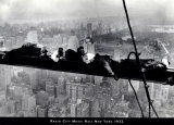 Men on Beam - Radio City 1935 Prints